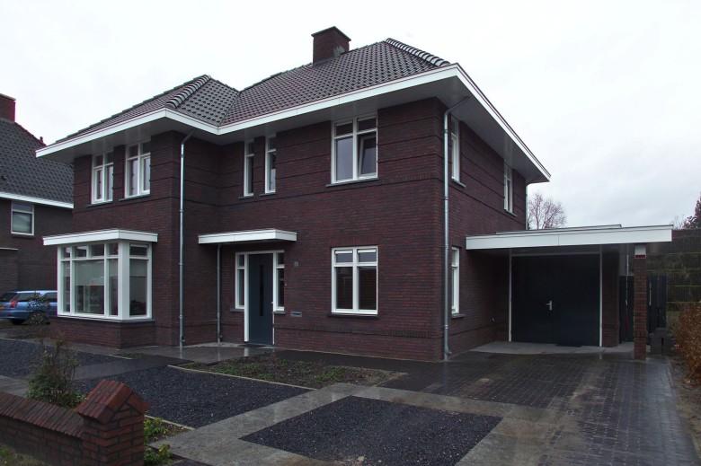 Brummelhuis dertiger jaren woning met superstrak for Bouwbedrijf huizen