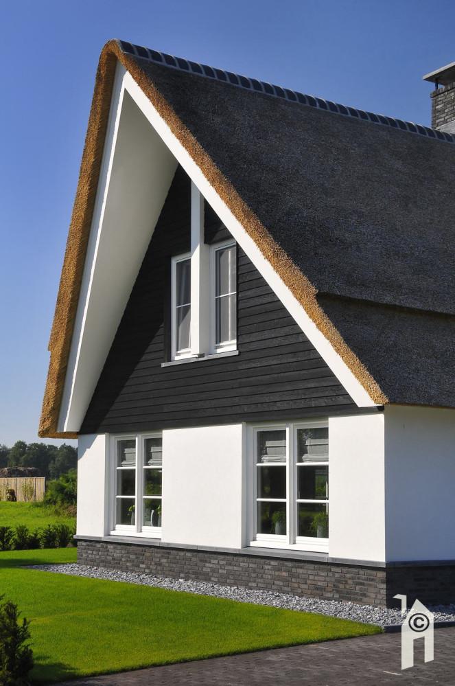 Huis met koperen details zweedse woning bongers architecten bnabongers bna uitbouw van de - Ingang van het hedendaagse huis ...