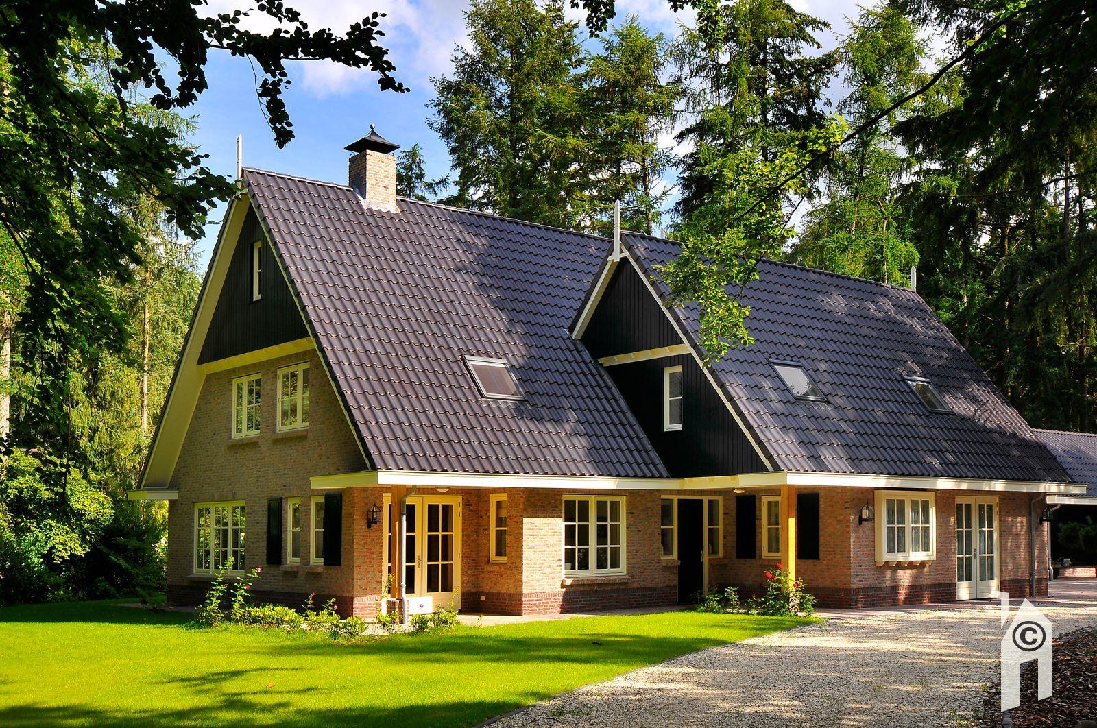 Bouwbedrijf brummelhuis goede architect of aannemer for Modern landhuis