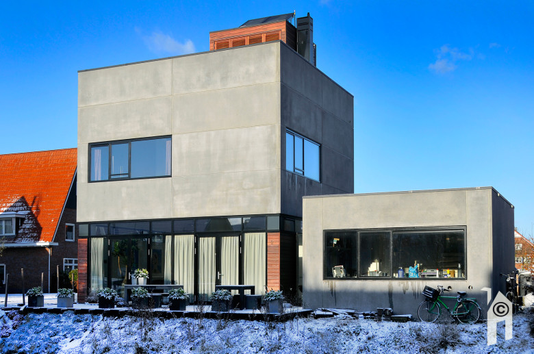 Moderne architectuur huis architectuur moderne woningen moderne motorcycle review and galleries - Huis modern kubus ...