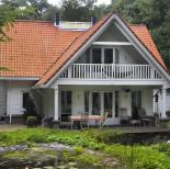 Houten huis bouwen