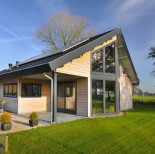 Houten huis bouwen doe inspiratie op for Houten huis laten bouwen