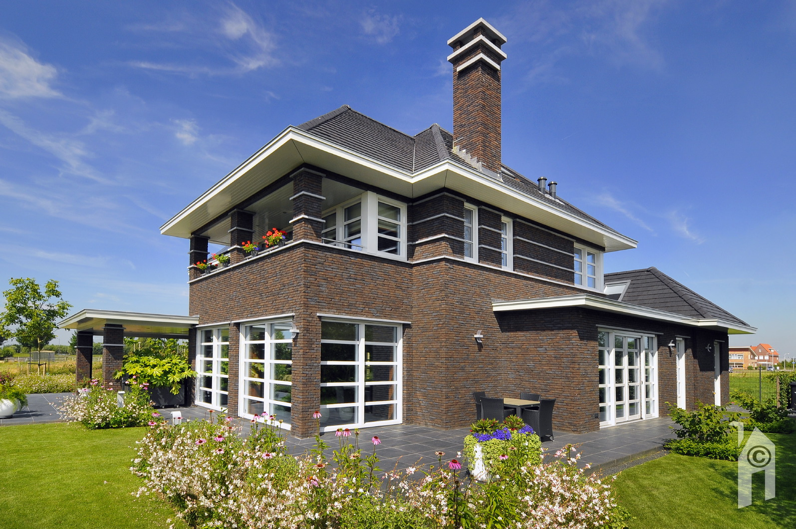 Jaren 30 Huis Bouwen: Villa icarusblauwtje architectuurwonen. Fixplan ...