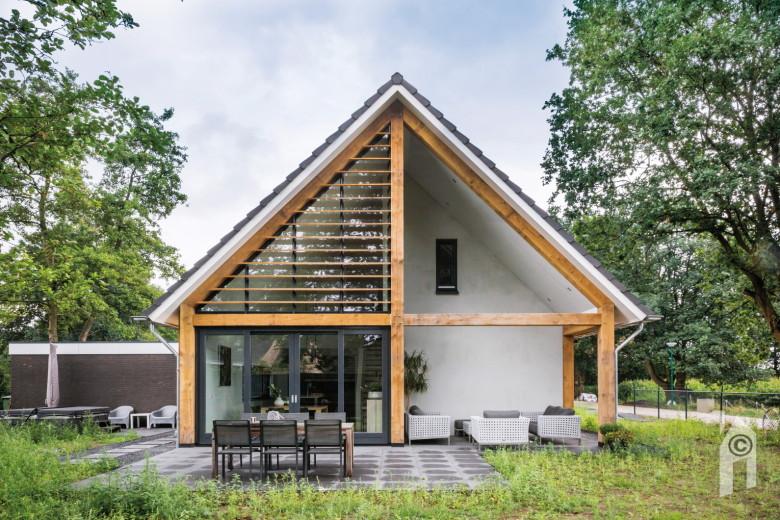 Woonsubliem schuurwoning met een moderne twist for Kavel en huis droomhuis