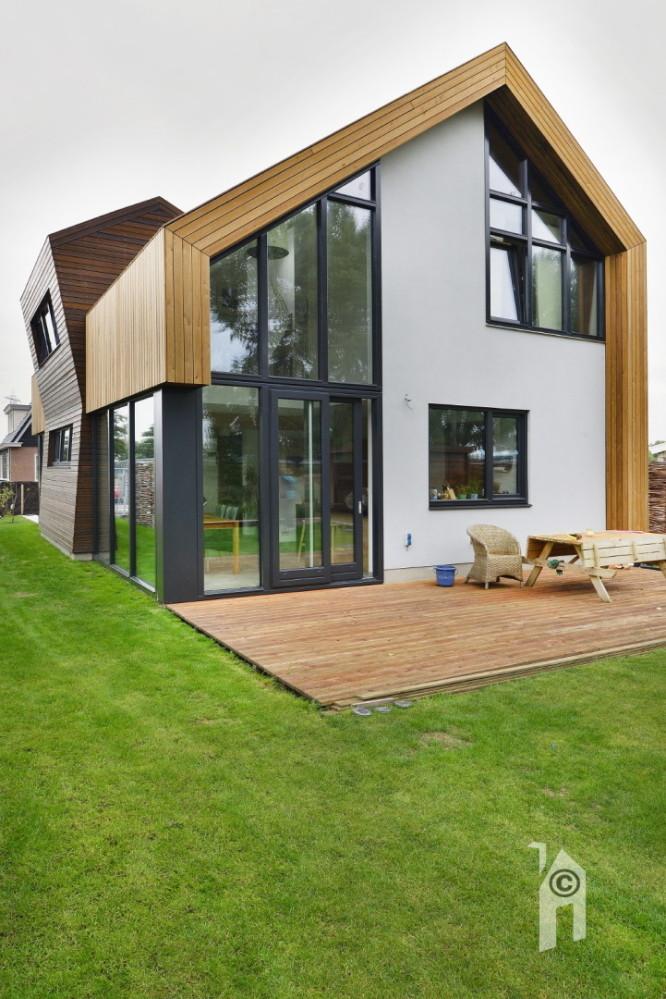Narrativa architecten verrassing op verrassing for Huizen stijlen