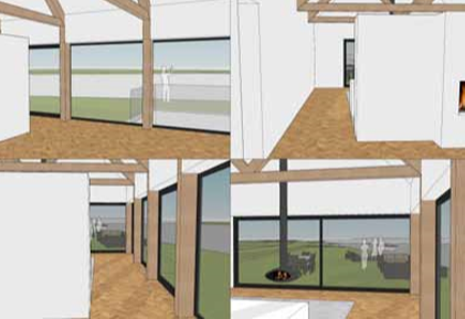 Moderne schuurwoning laten bouwen