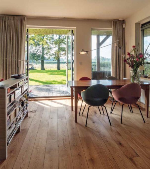 Schuurwoning bouwbedrijf Finnlogs heeft deze woning gebouwd